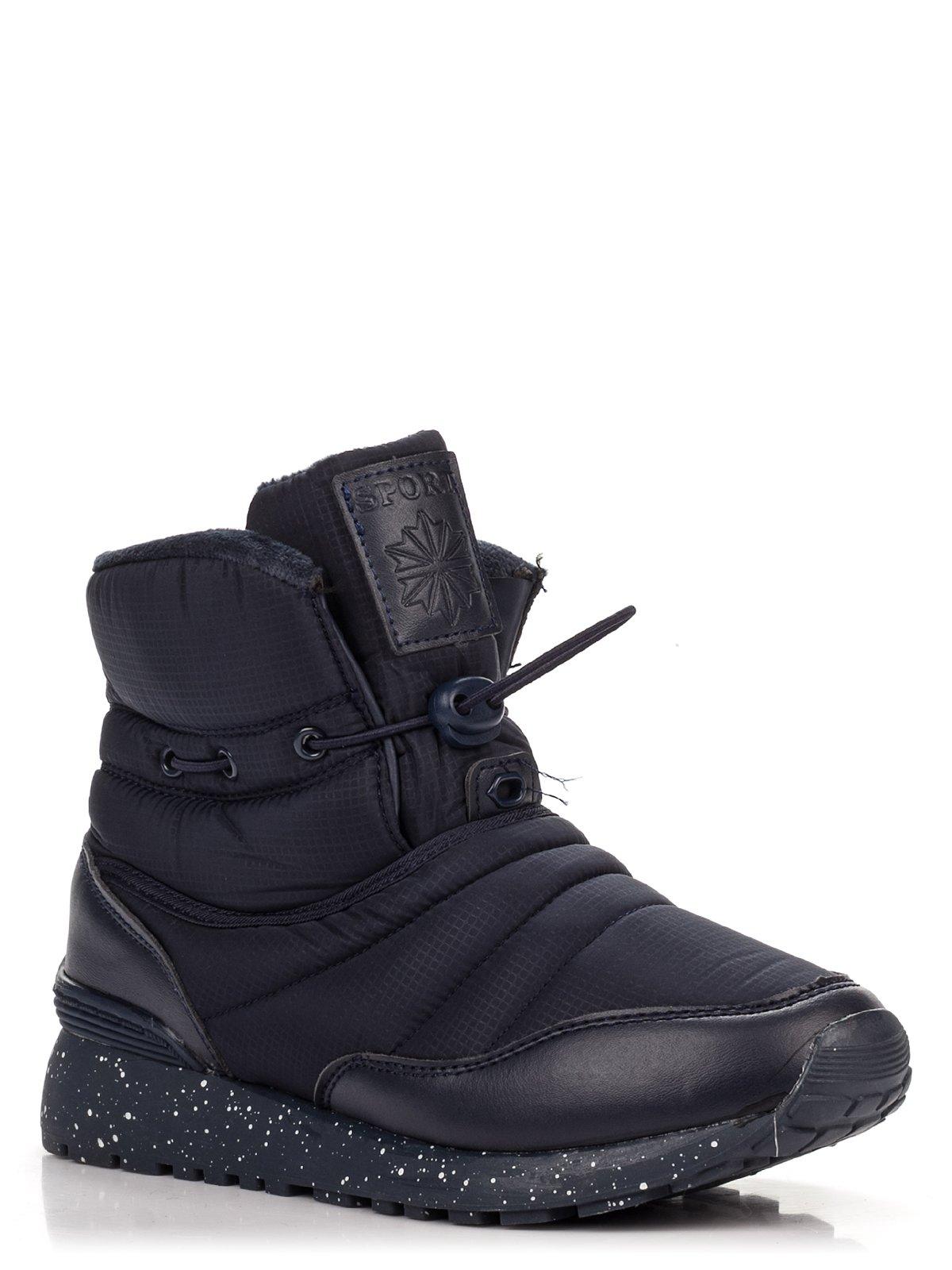 Ботинки синие   3710862