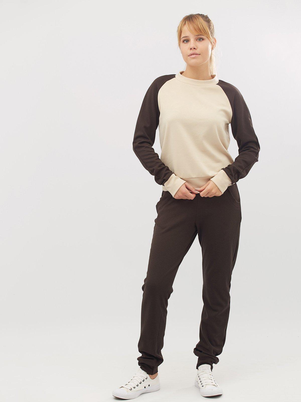 Костюм: свитшот и брюки | 3724008