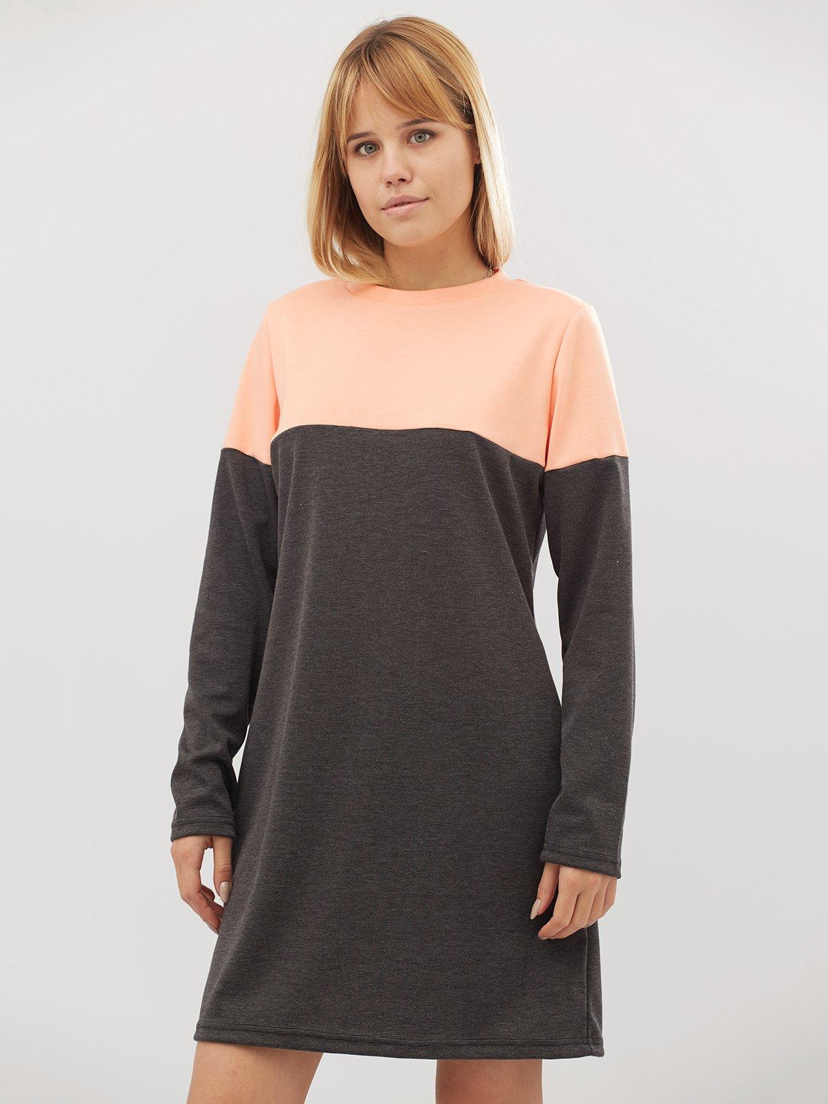 Платье двухцветное | 3724054