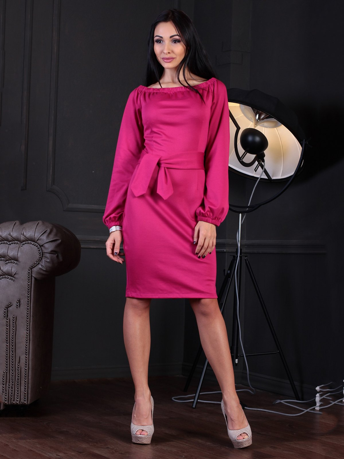 Сукня кольору фуксії   3735691