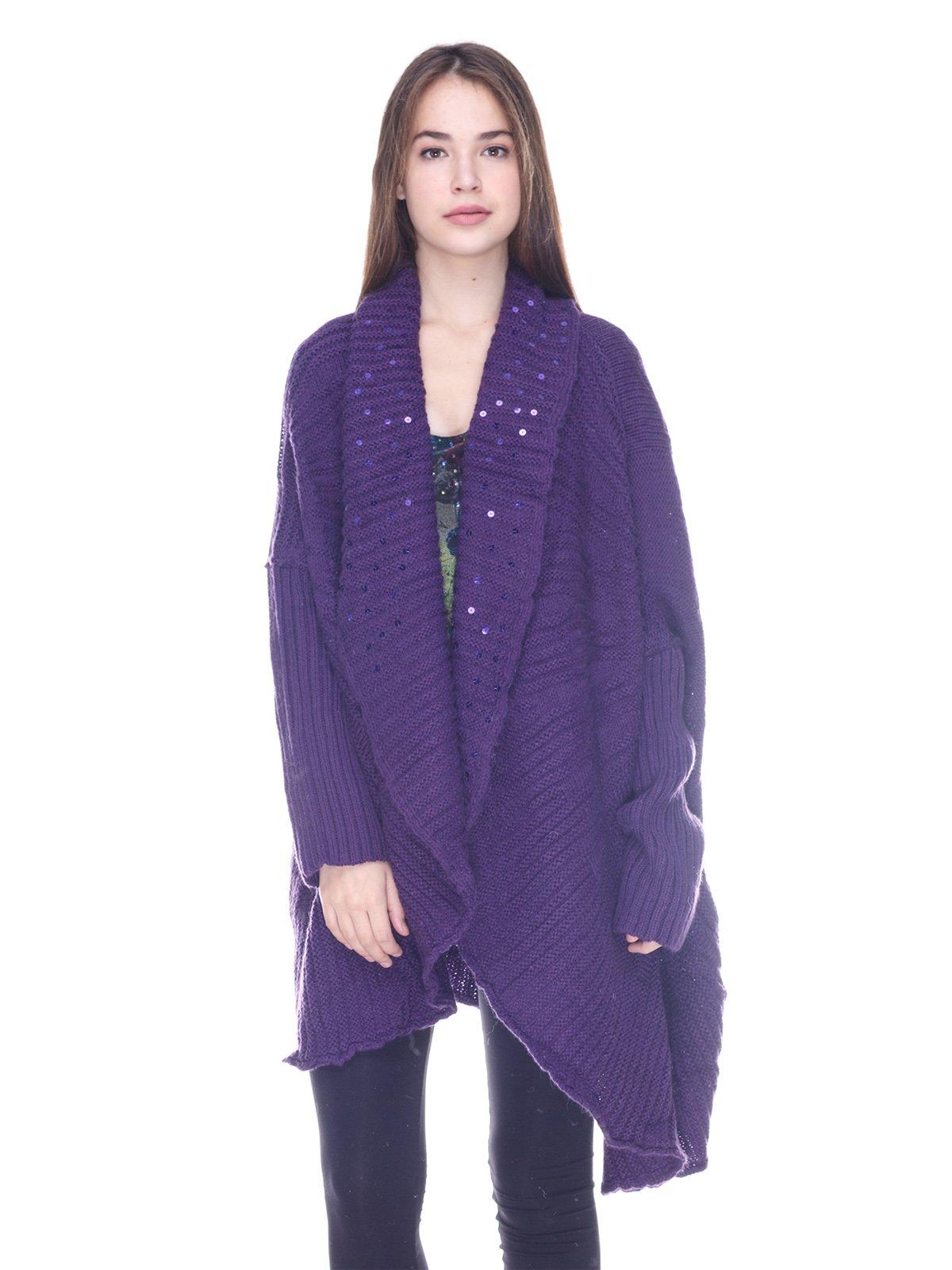 Кардиган фіолетовий | 3734070