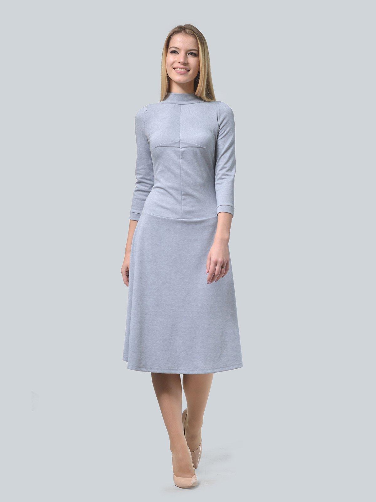 Платье серое | 3735971