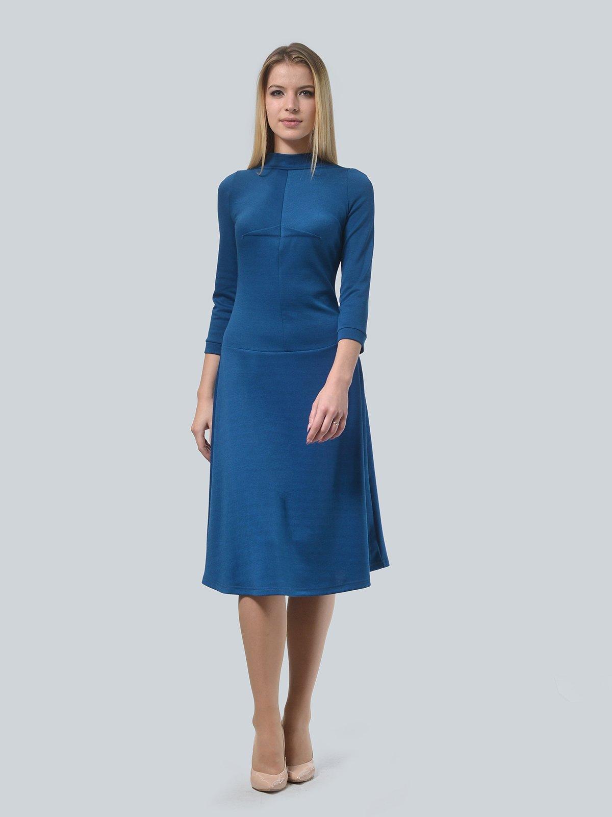 Платье цвета морской волны   3735974