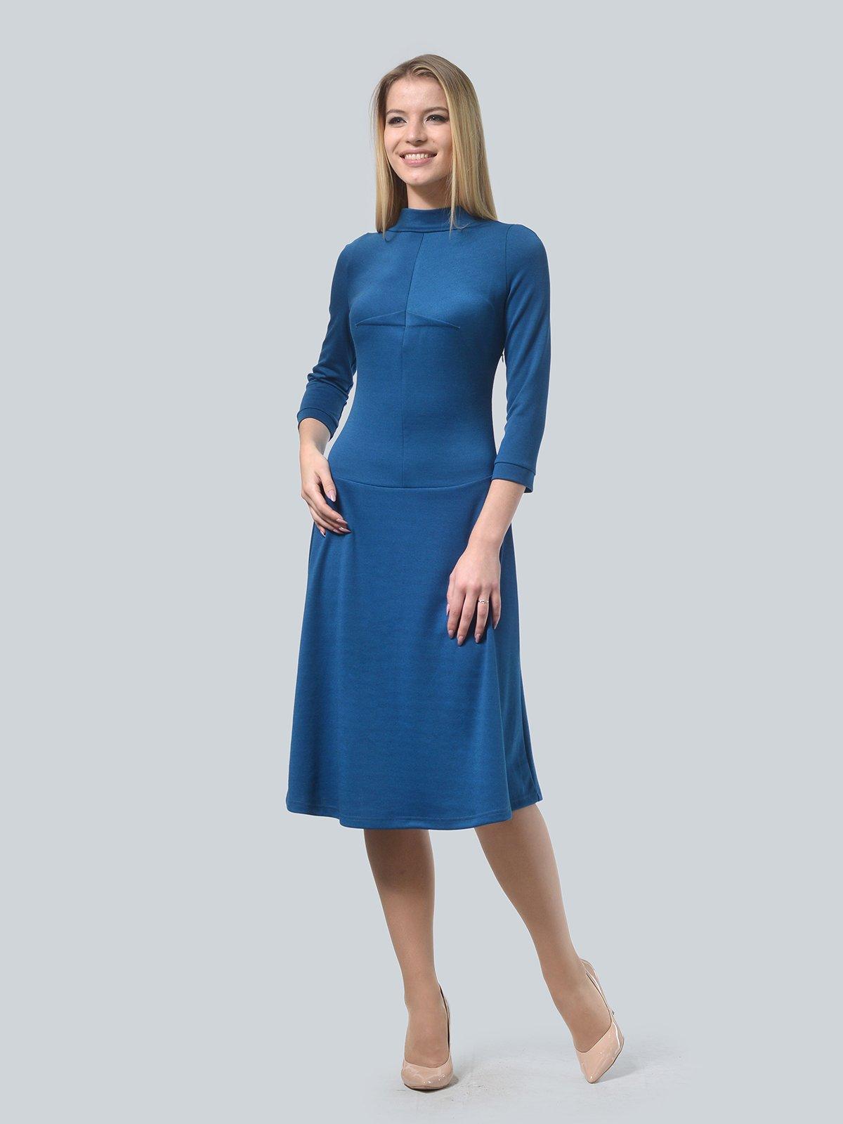 Платье цвета морской волны   3735974   фото 2