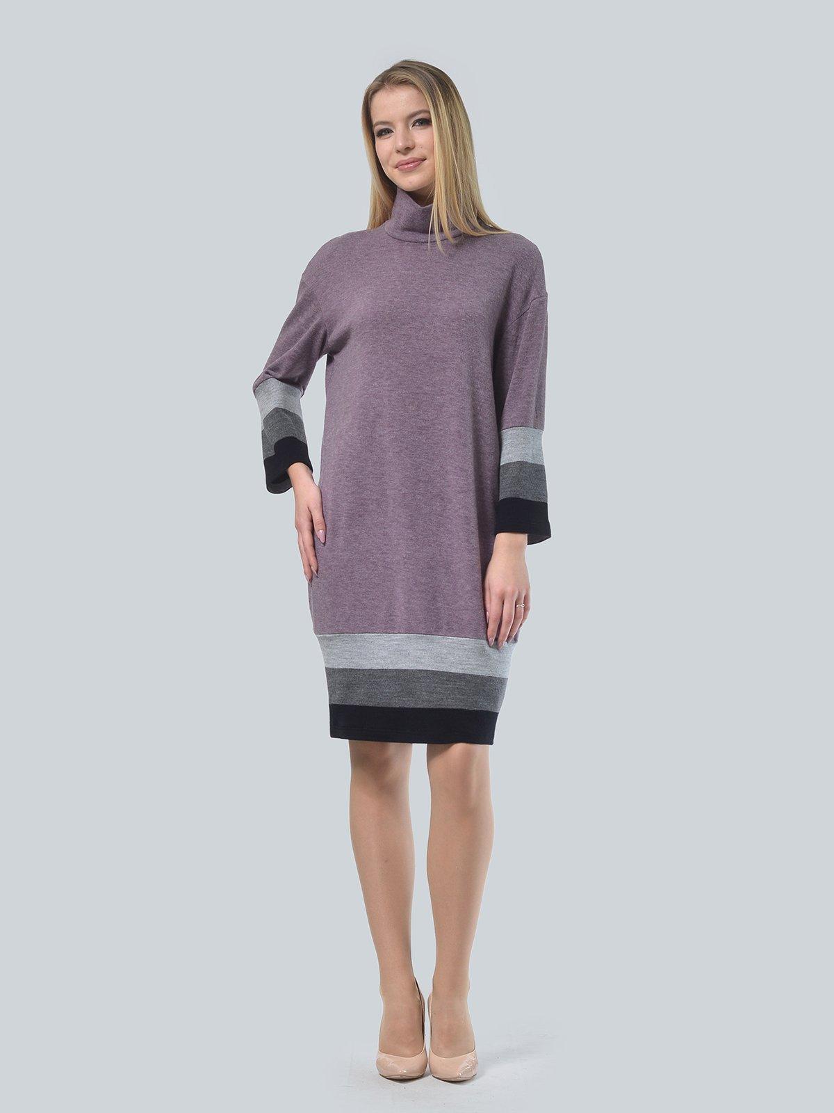 Платье сиреневое | 3735977