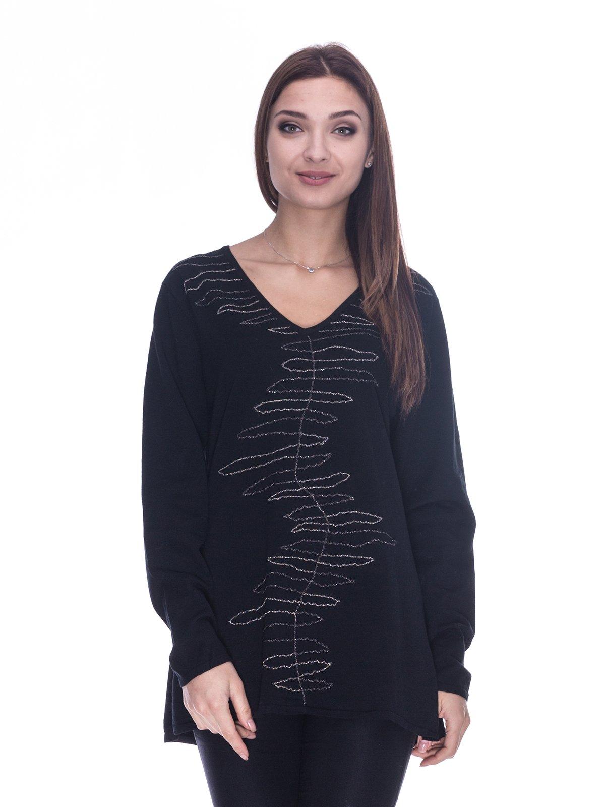 Пуловер черный | 3734062