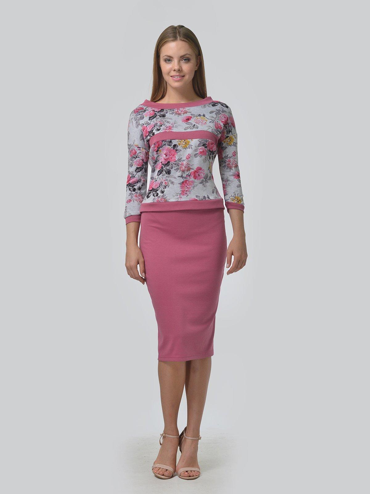Комплект: джемпер и юбка | 3724256 | фото 2