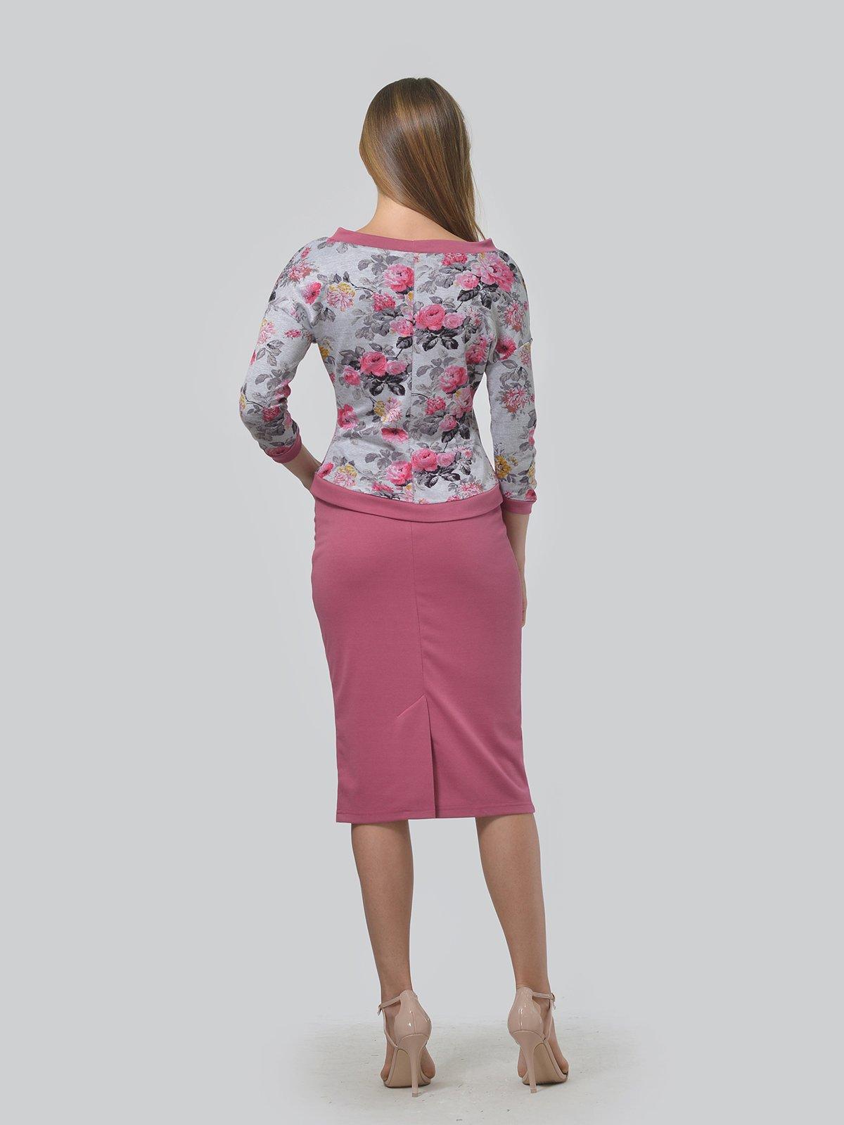 Комплект: джемпер и юбка | 3724256 | фото 3