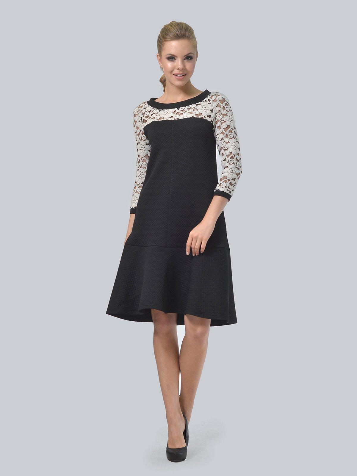 Платье черное | 3724260 | фото 2