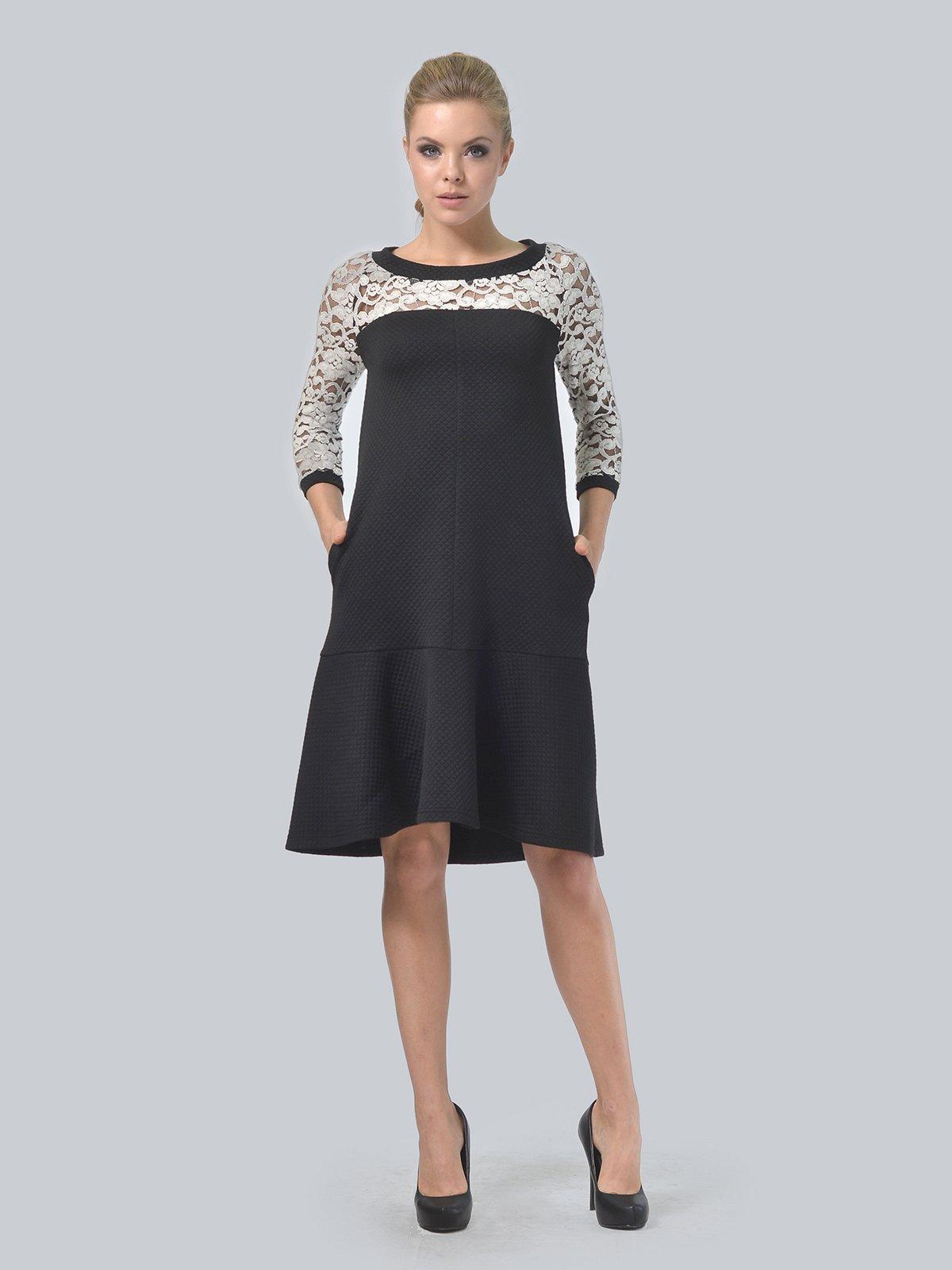 Платье черное | 3724260 | фото 3