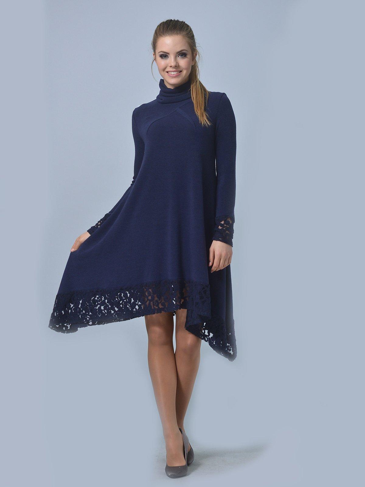 Платье темно-синее | 3724287
