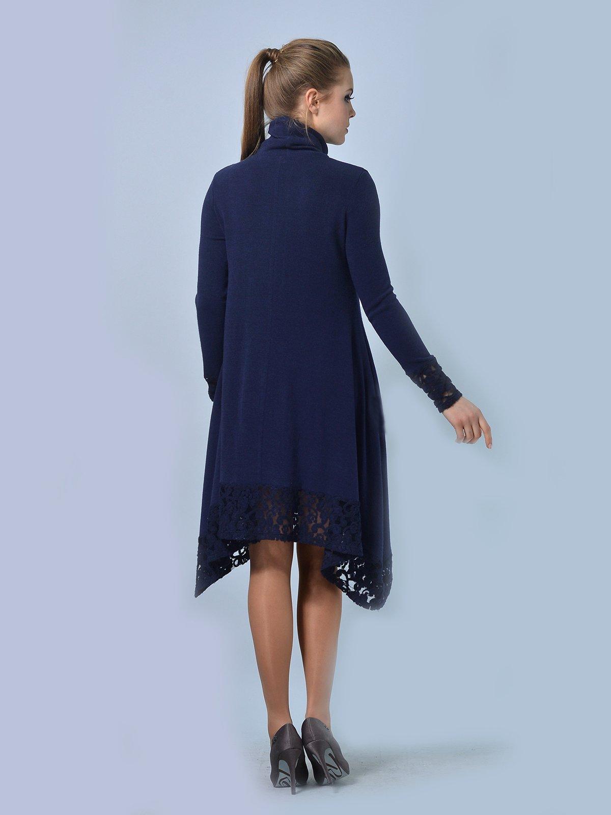 Платье темно-синее | 3724287 | фото 2