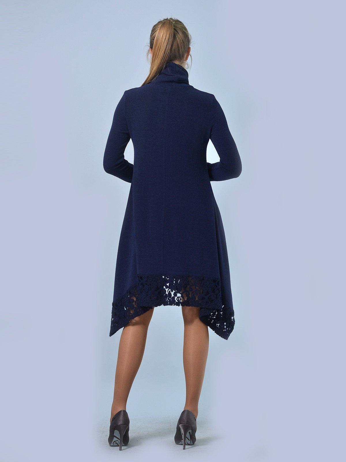 Платье темно-синее | 3724287 | фото 3