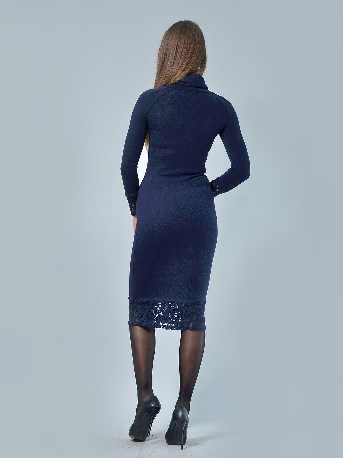 Платье темно-синее | 3724301 | фото 3