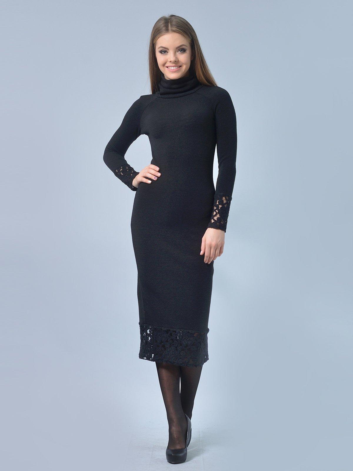 Платье черное | 3724303