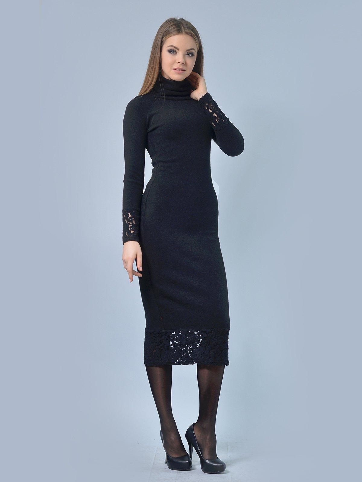 Платье черное | 3724303 | фото 2