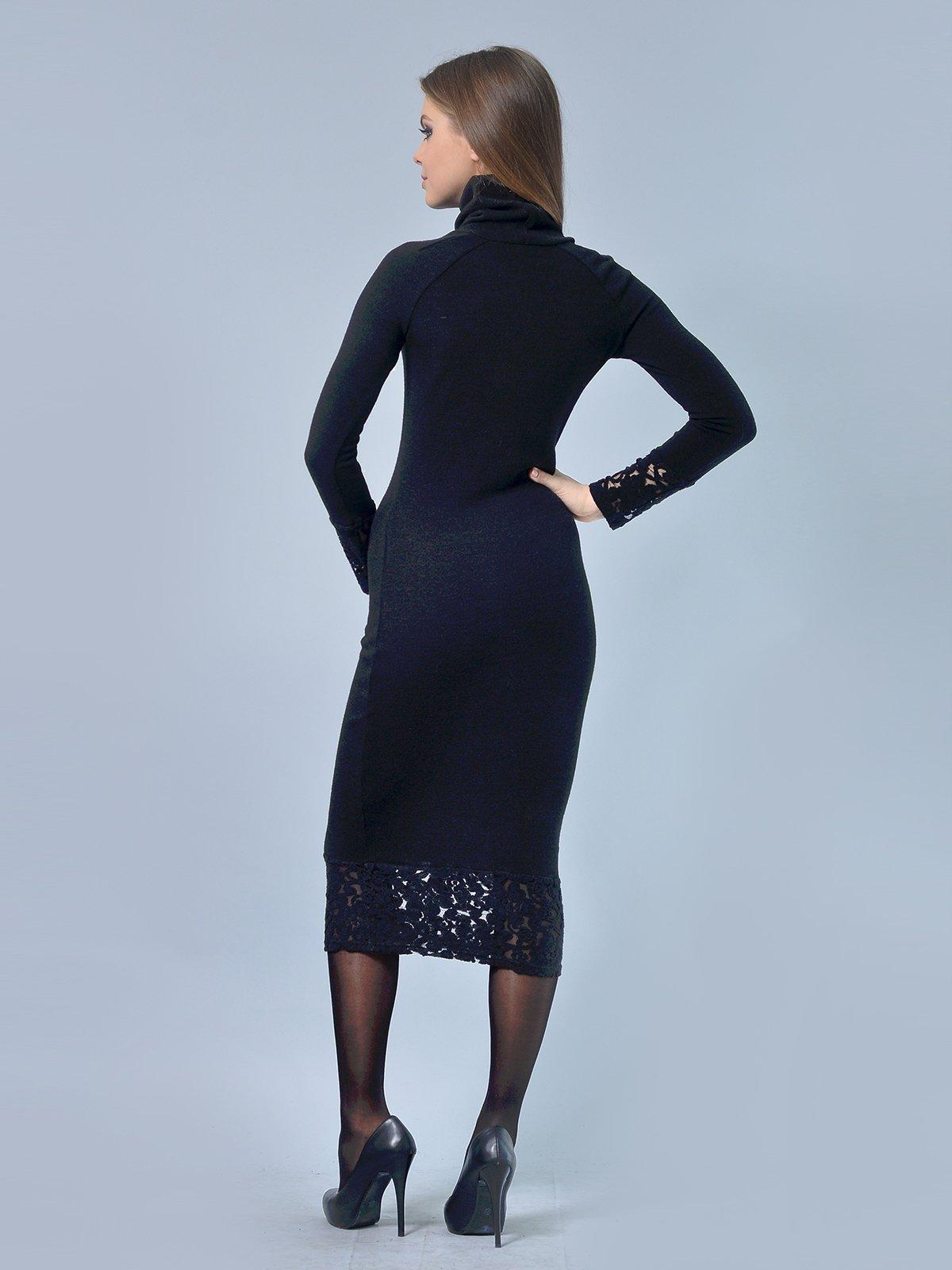Платье черное | 3724303 | фото 4