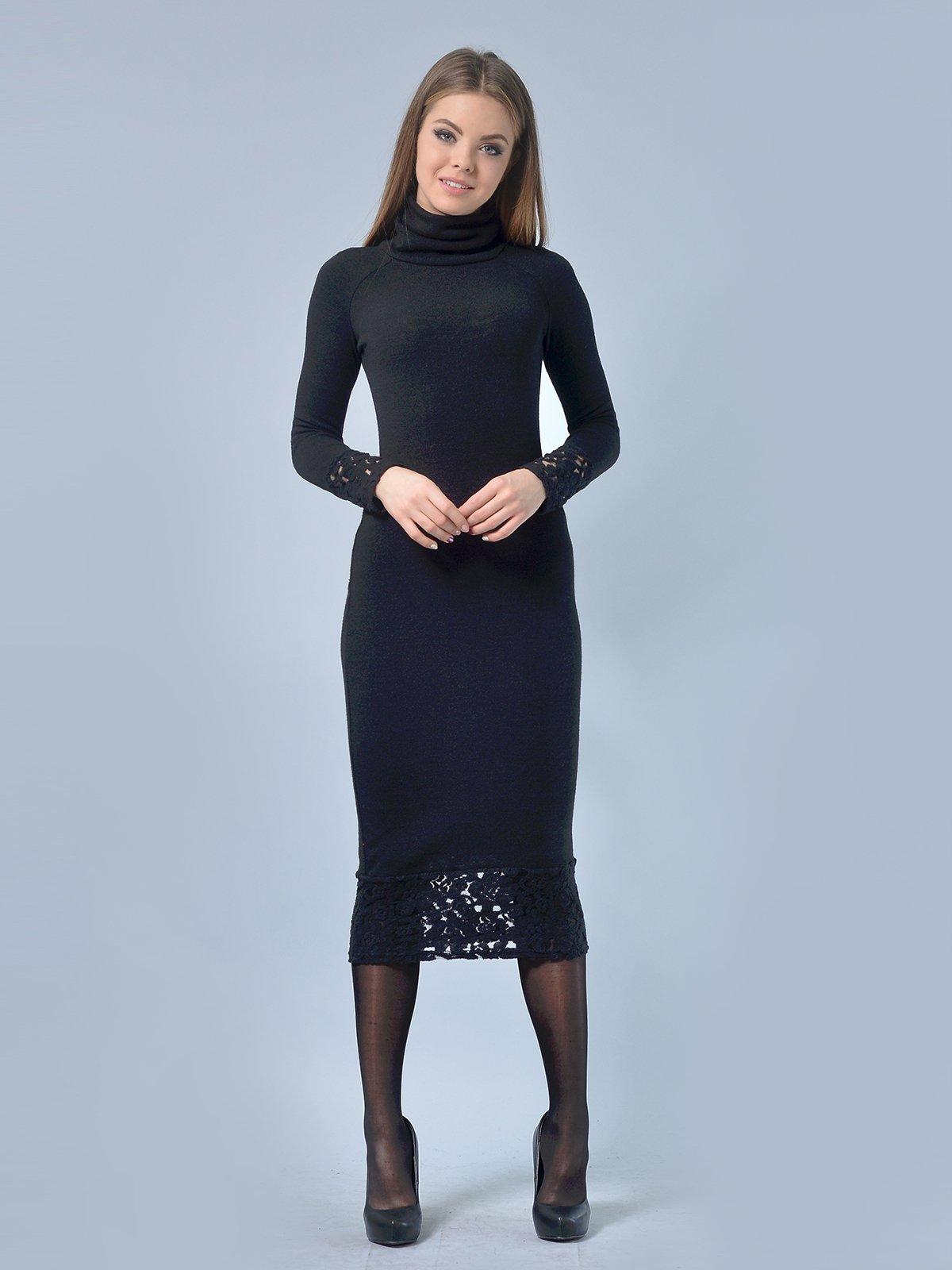 Платье черное | 3724303 | фото 5