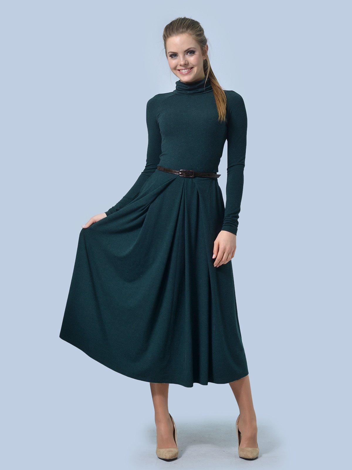 Платье зеленое | 3724305 | фото 2