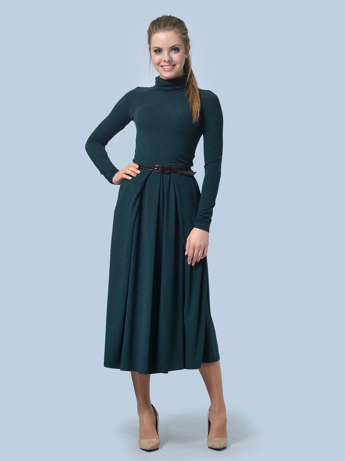 Платье зеленое | 3724305 | фото 3