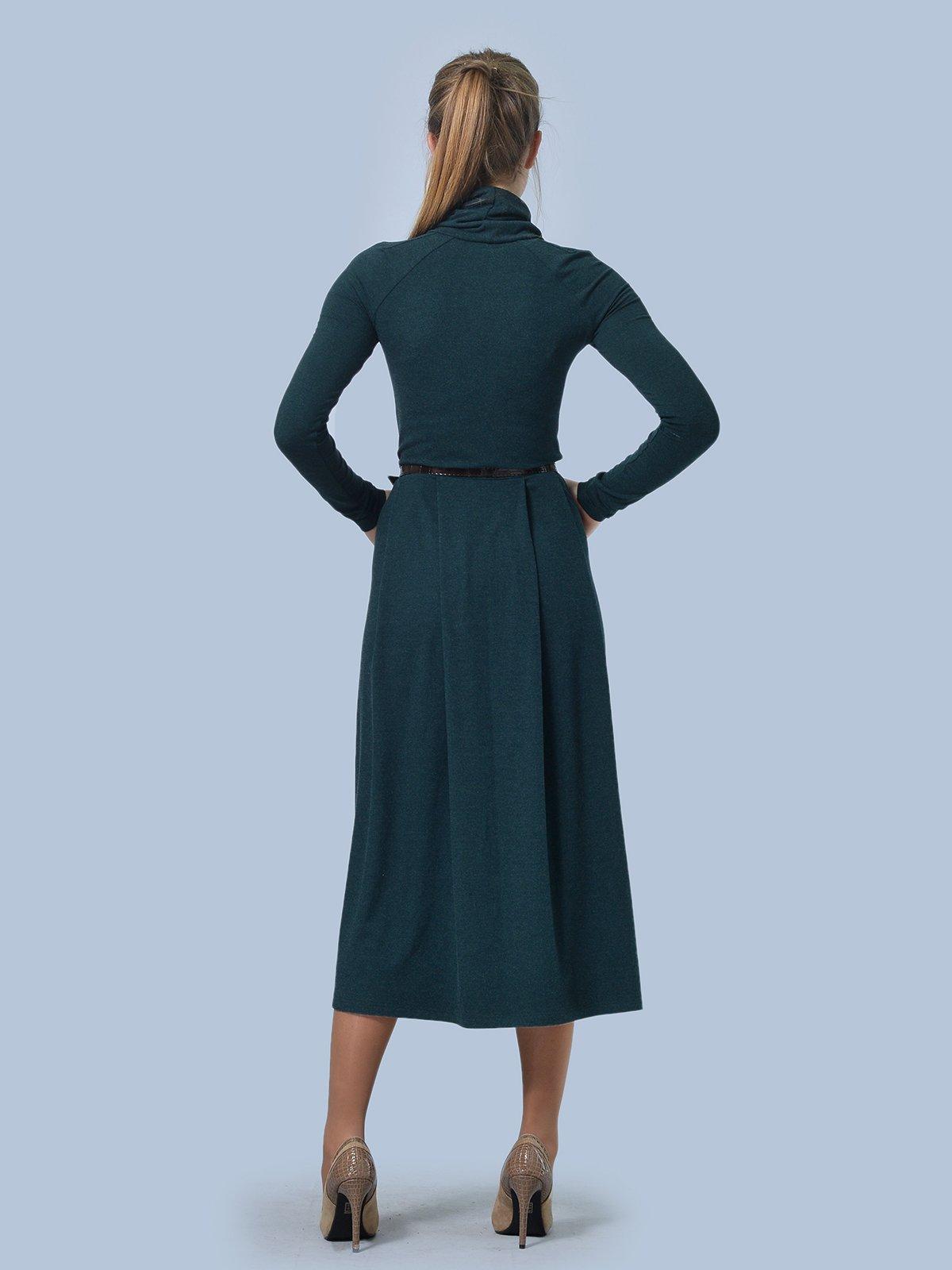 Платье зеленое | 3724305 | фото 4