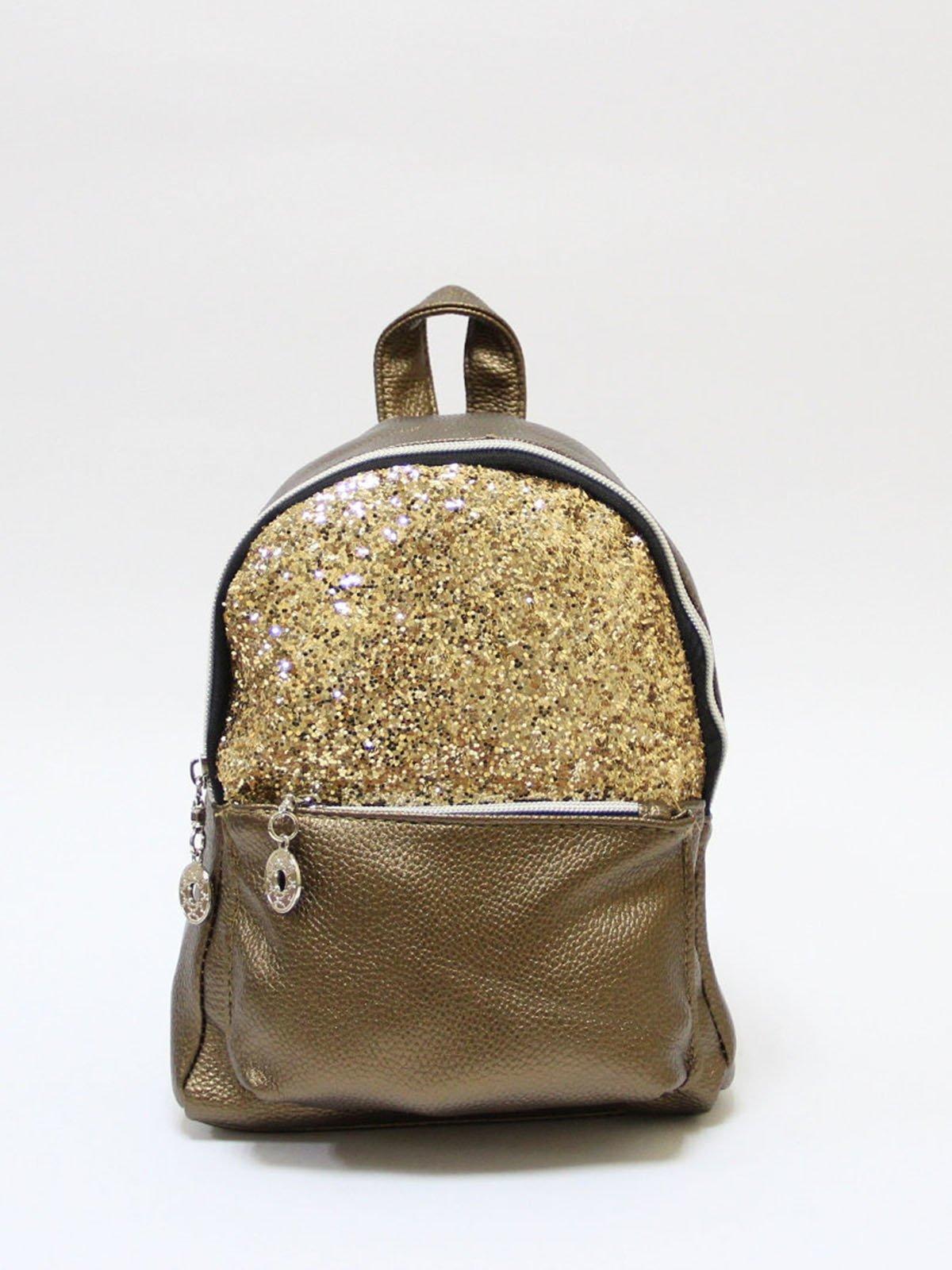 Рюкзак золотистий | 3704515