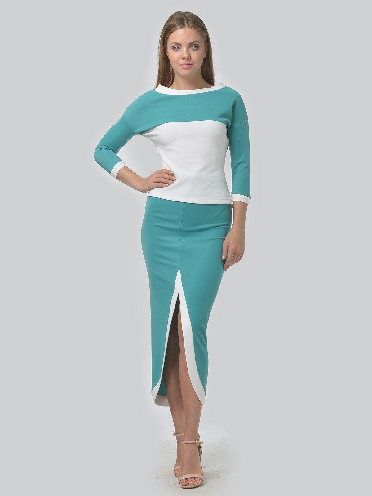 Комплект: джемпер и юбка | 3724258 | фото 2