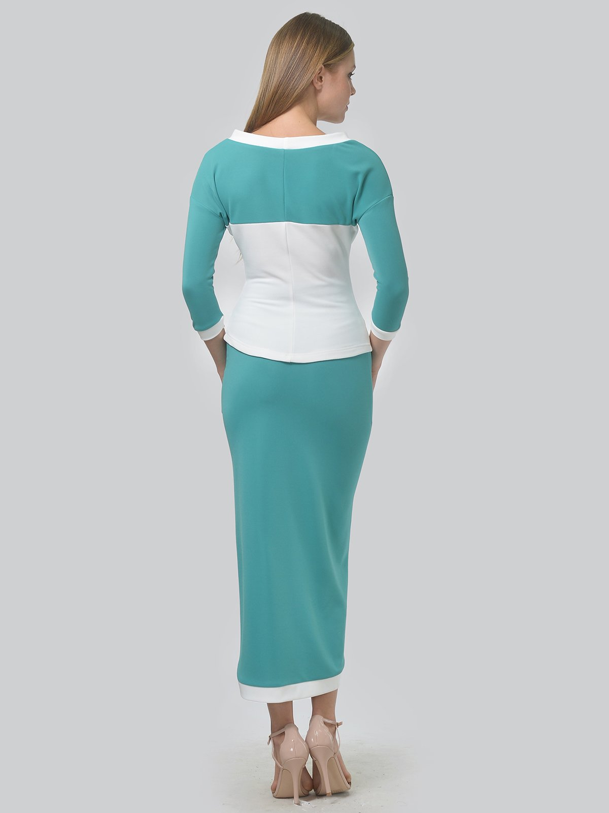 Комплект: джемпер и юбка | 3724258 | фото 3