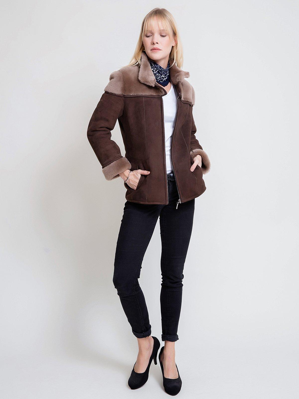 Куртка коричневая   3740605