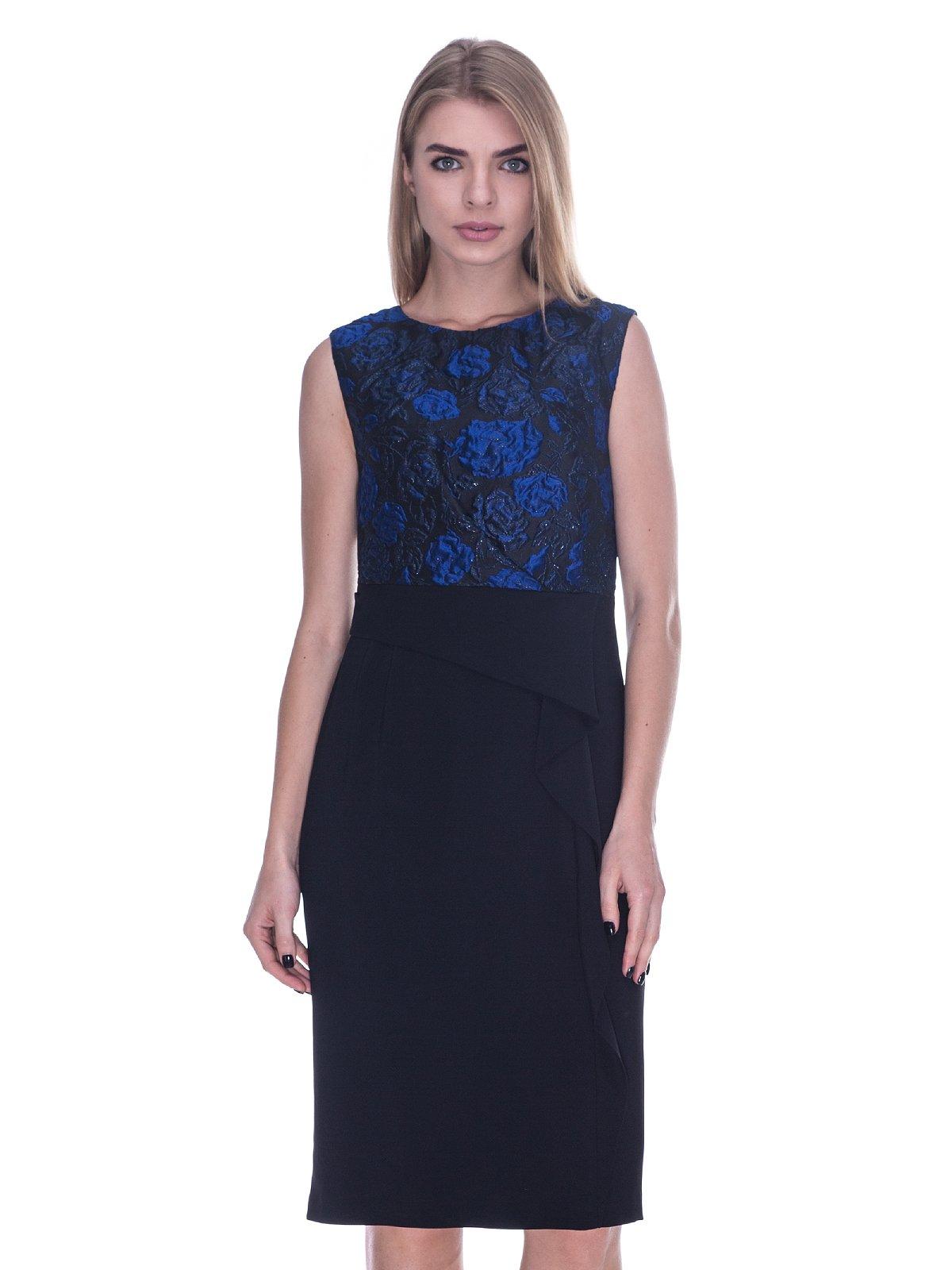 Платье черно-синее   3733736