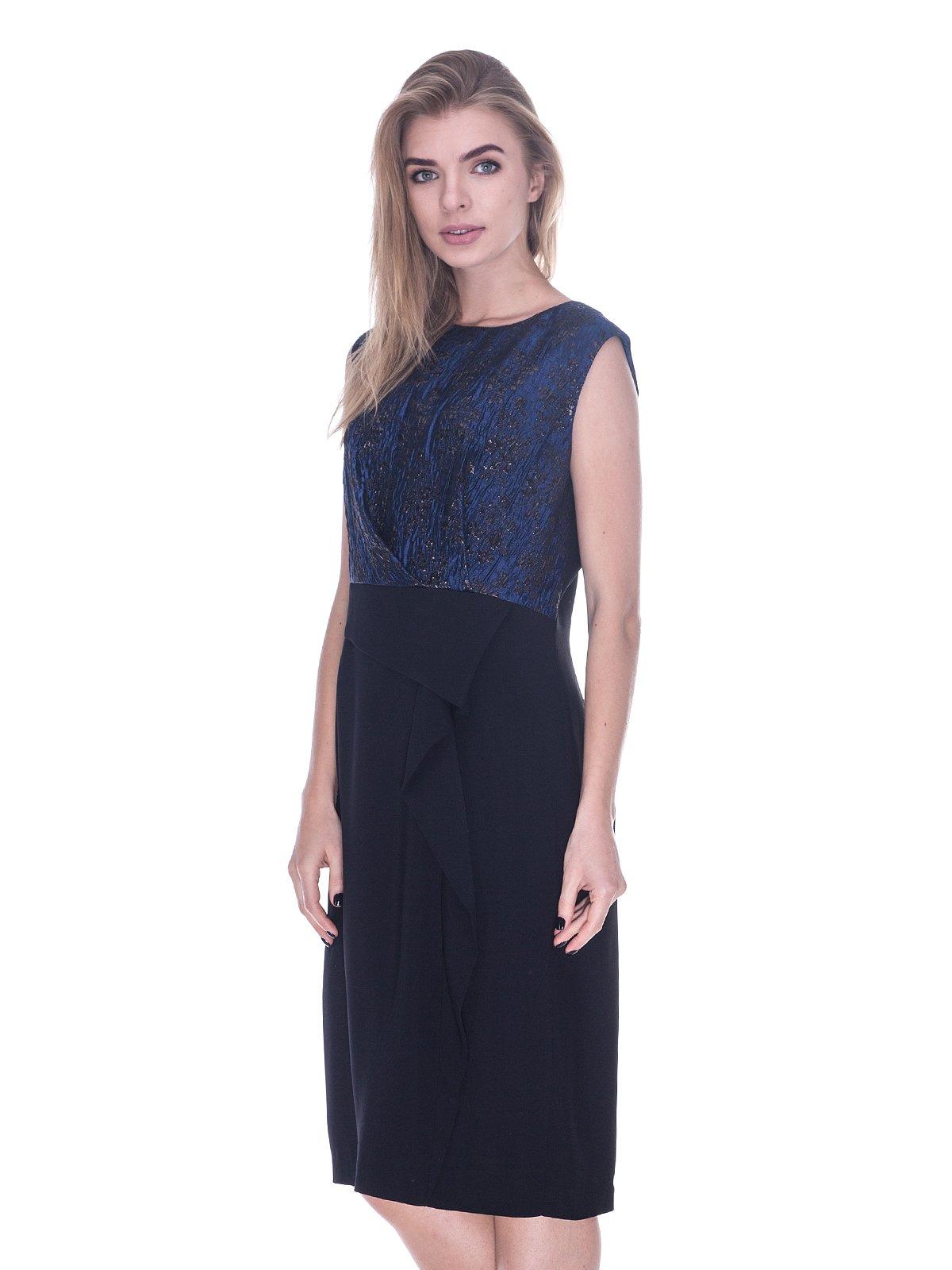 Платье черно-синее   3733739