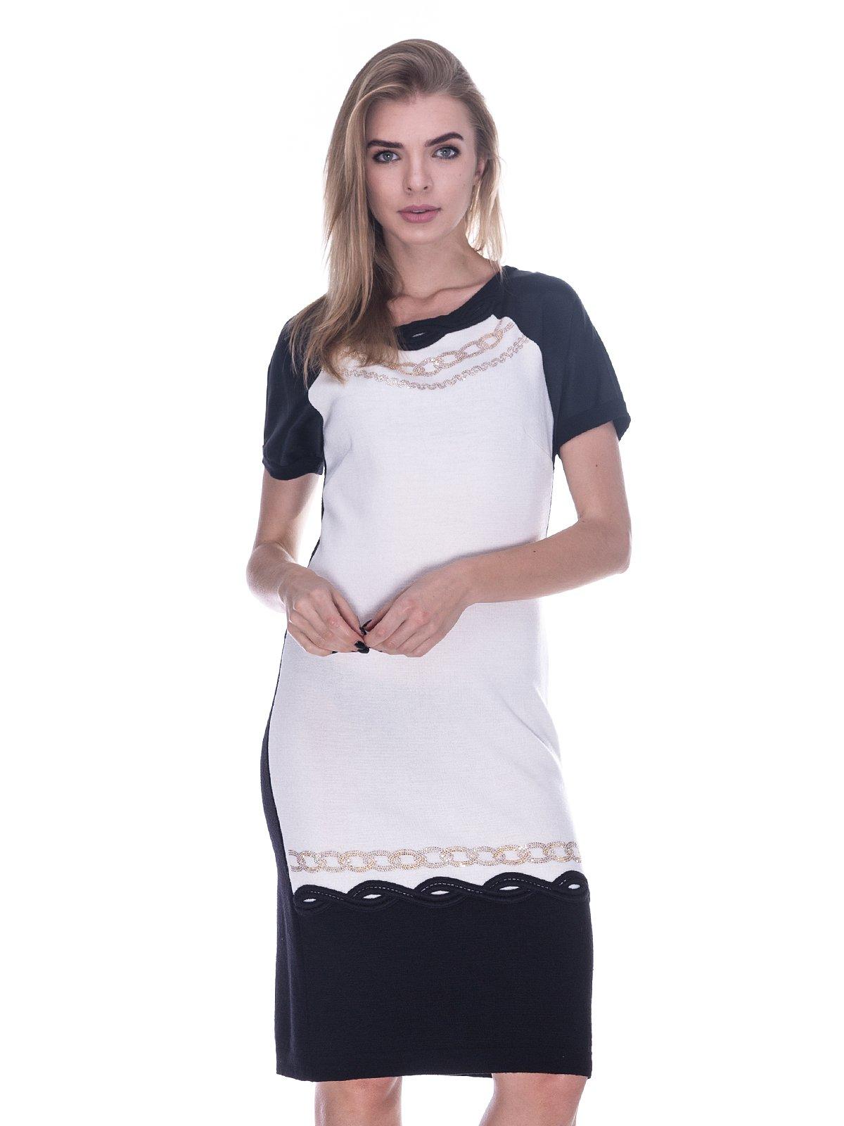Платье черно-белое | 3733728