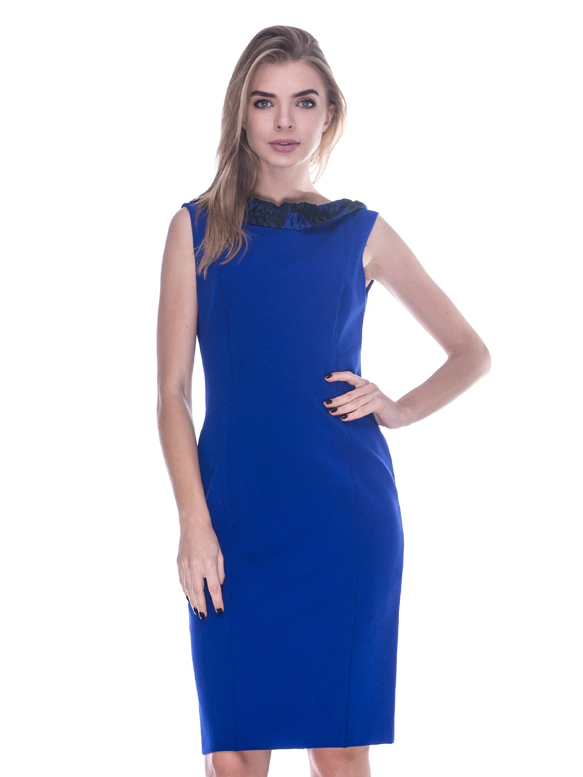 Платье синее   3733729