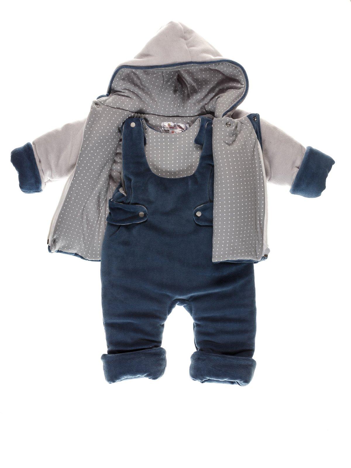 Комплект: куртка и комбинезон | 3742099 | фото 2