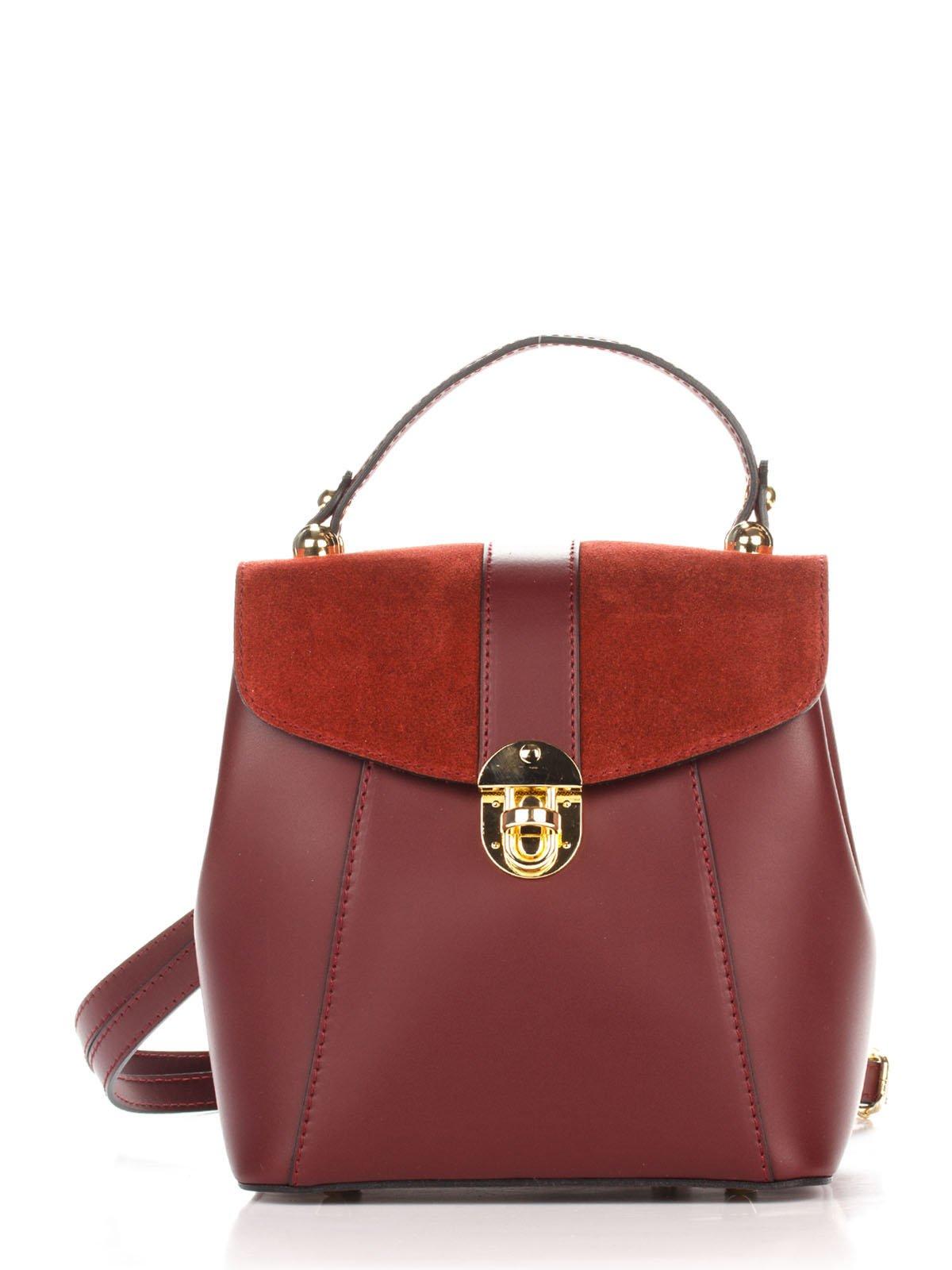 Рюкзак цвета марсала | 3738625