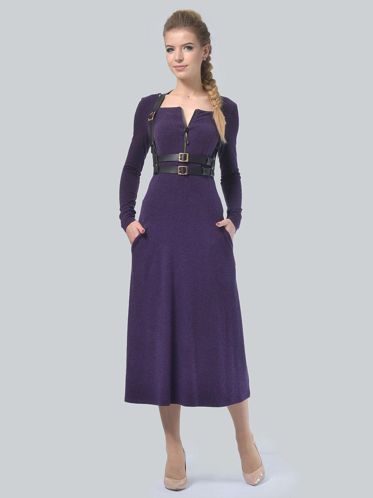 Платье фиолетовое | 3750707