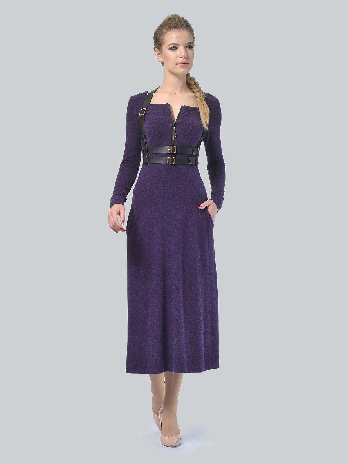 Платье фиолетовое | 3750707 | фото 2