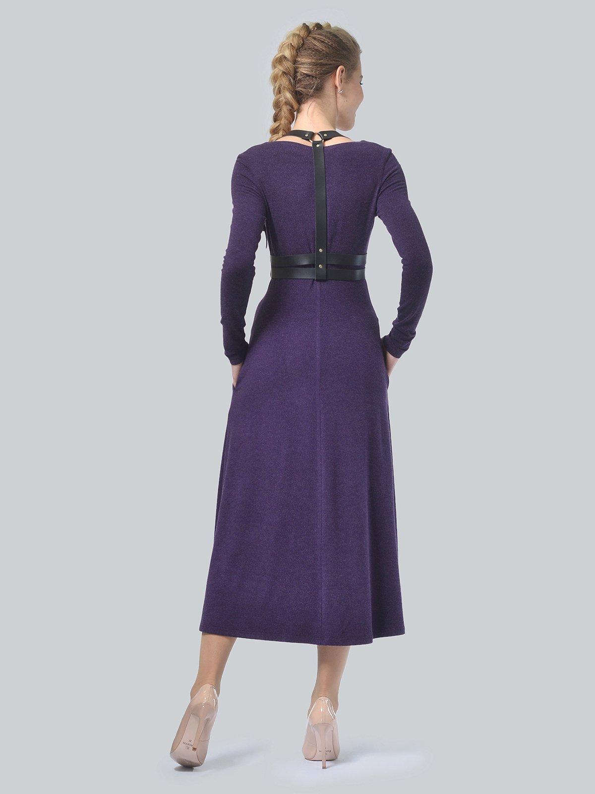 Платье фиолетовое | 3750707 | фото 3