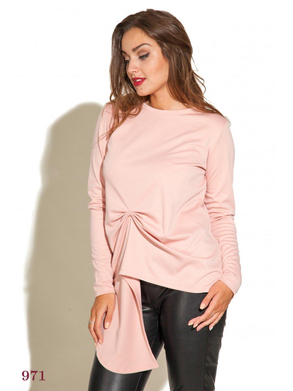 Блуза цвета пудры   3747120