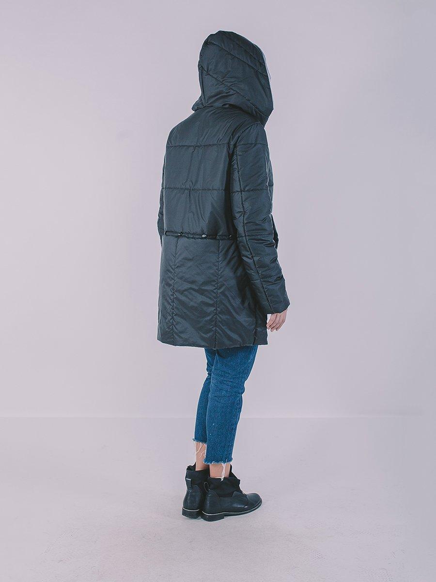 Пальто черное | 3749514 | фото 4
