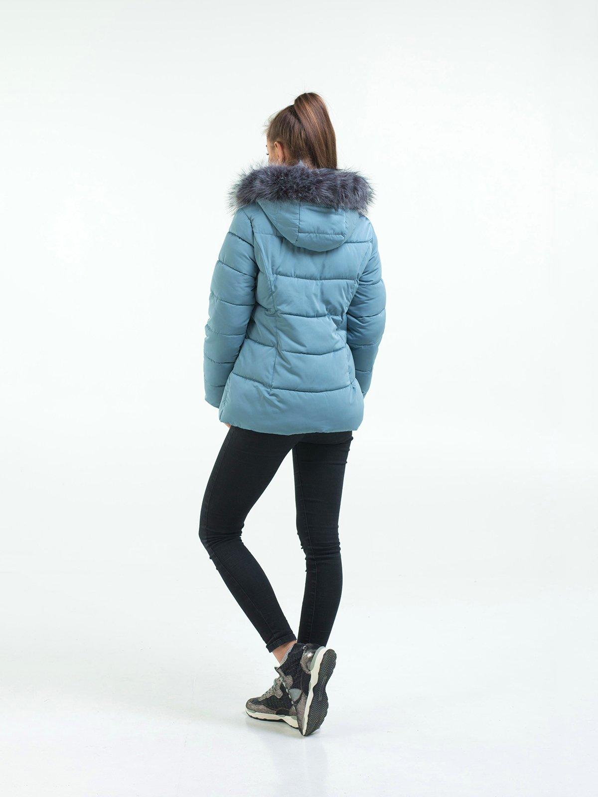 Куртка голубая | 3754630 | фото 3