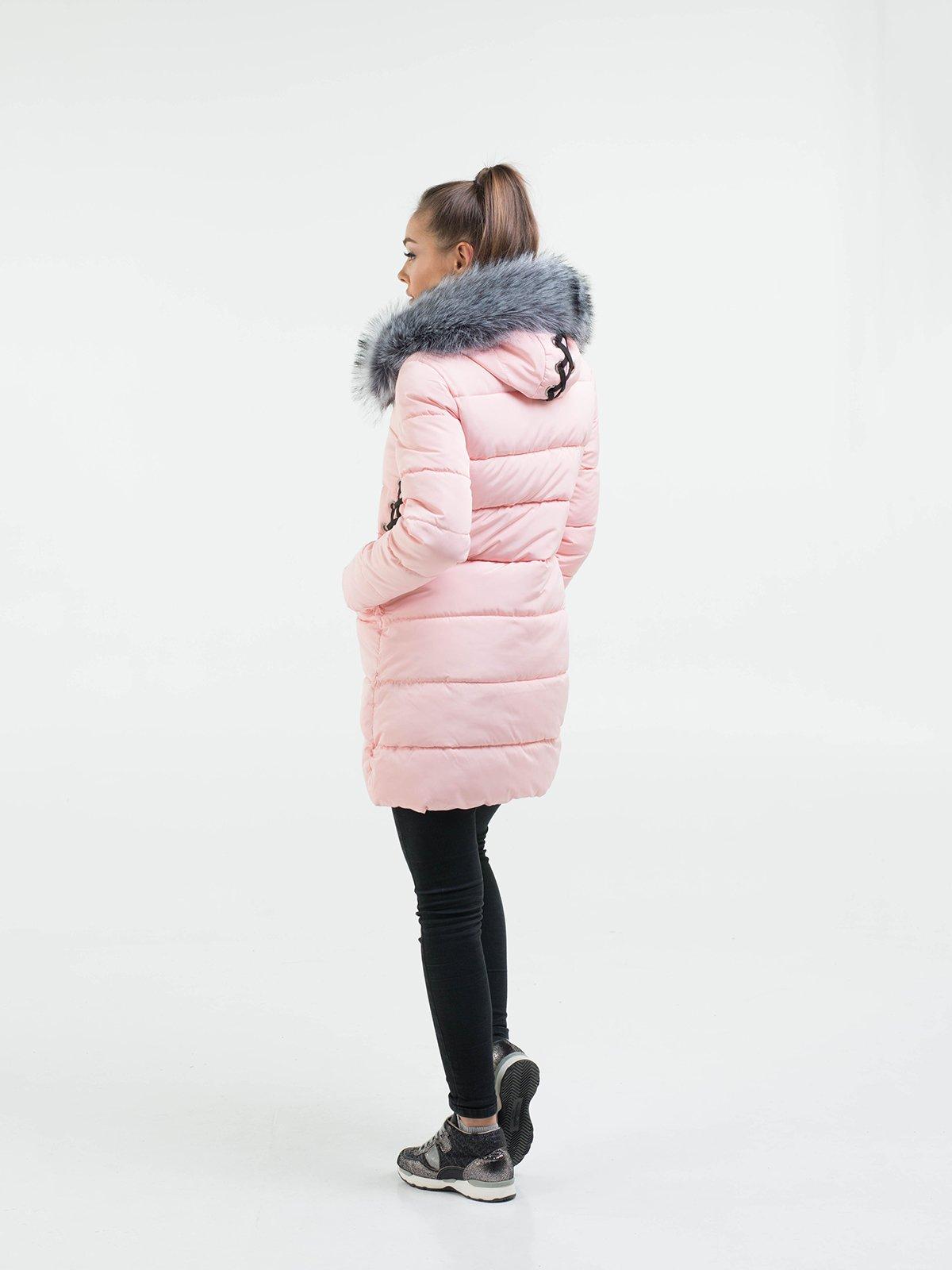Пальто рожеве | 3754641 | фото 3