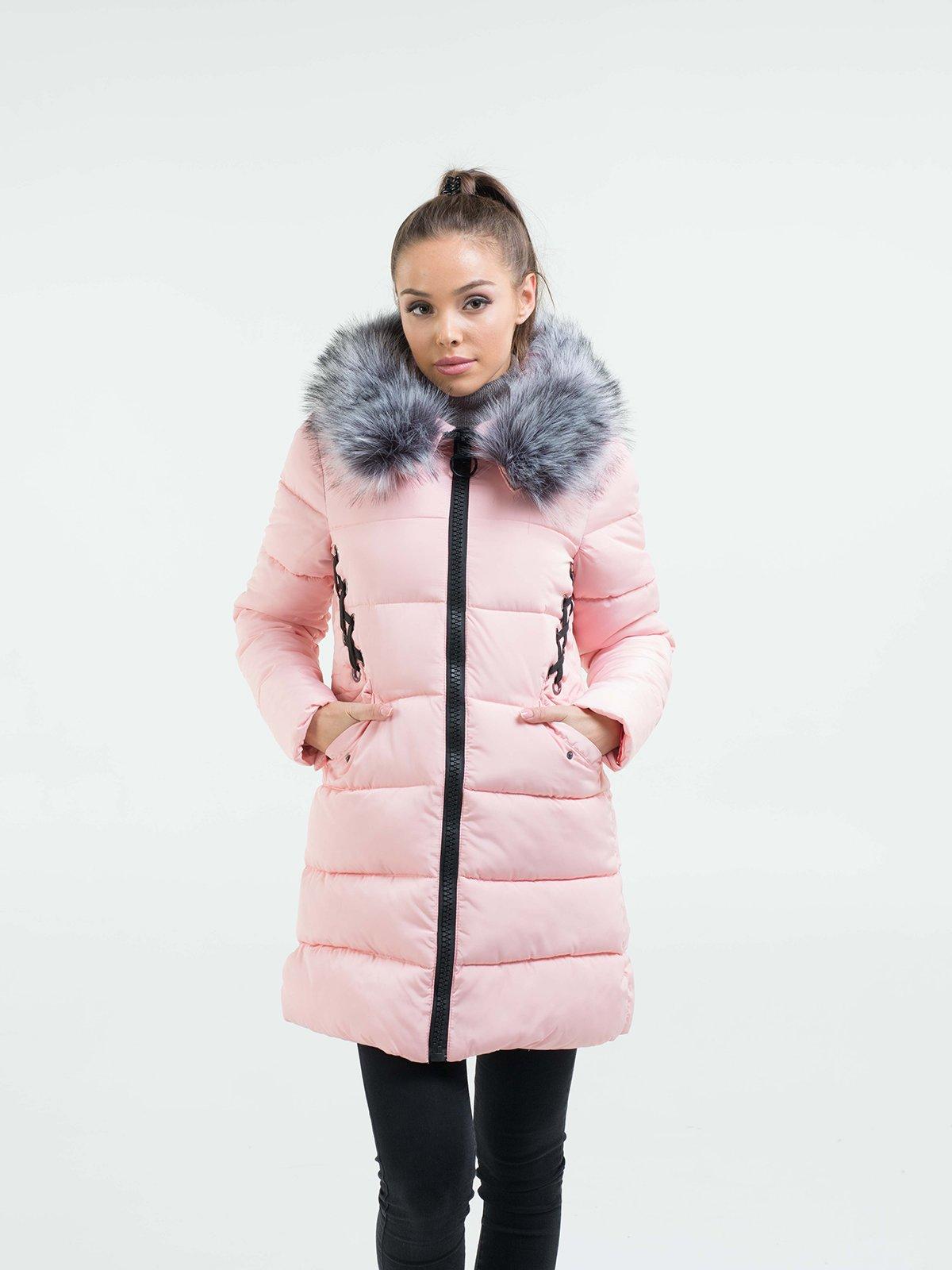 Пальто рожеве | 3754641 | фото 4