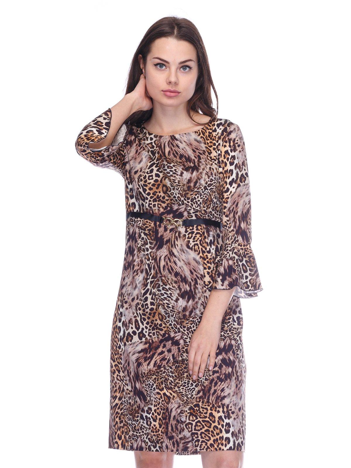 Сукня в леопардовий принт | 3752076