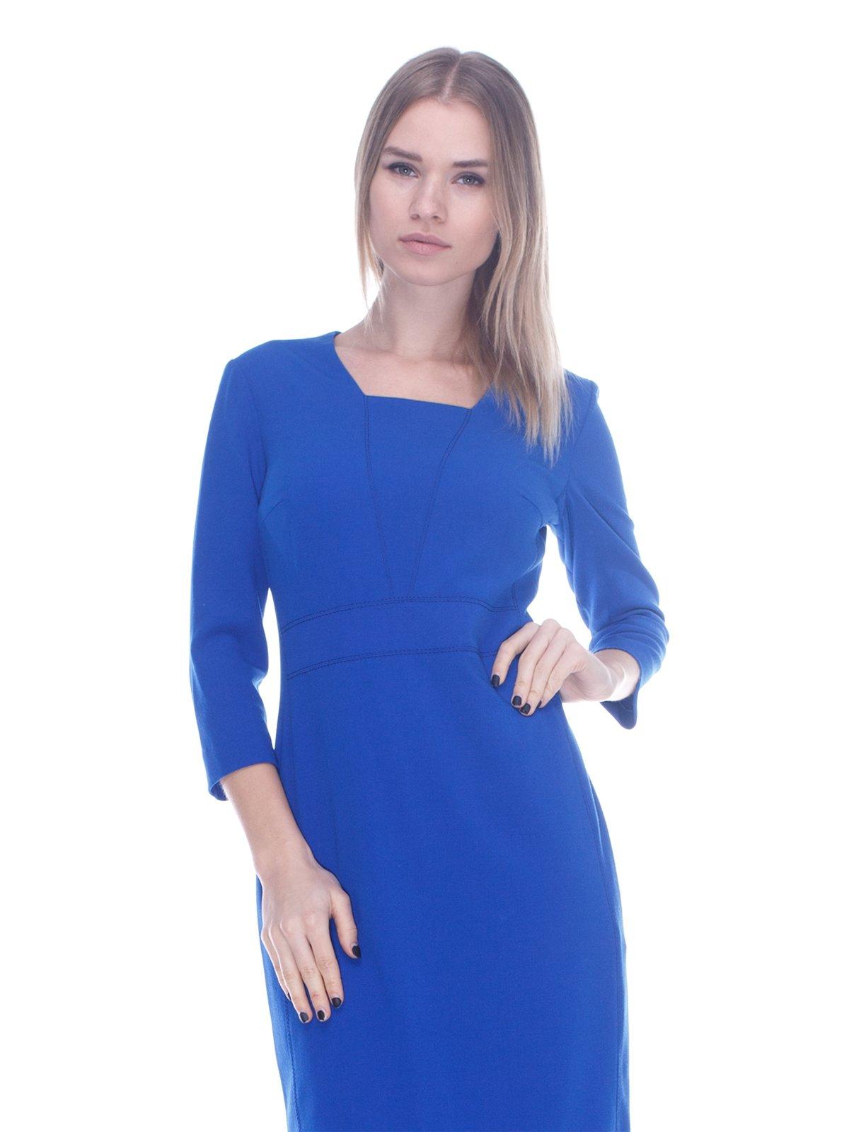 Платье ярко-синее | 3752067