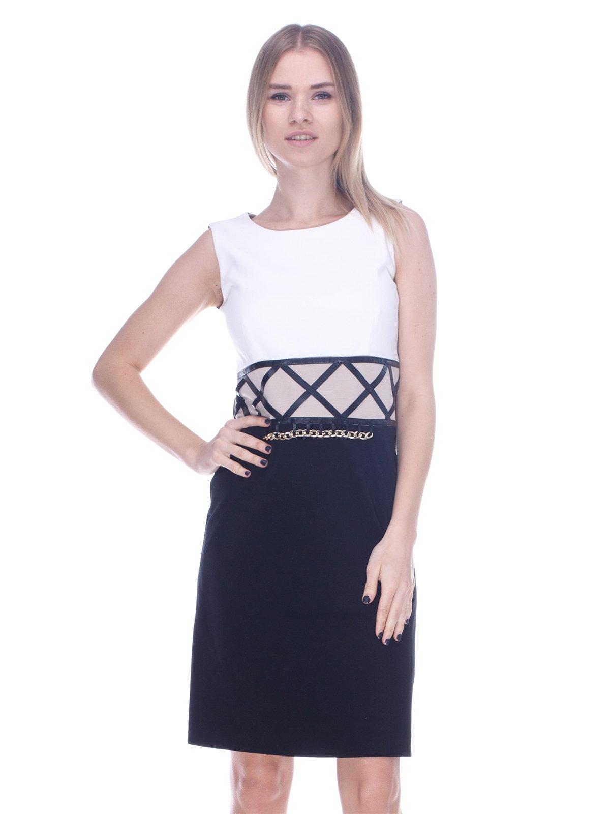 Платье трехцветное | 3752080