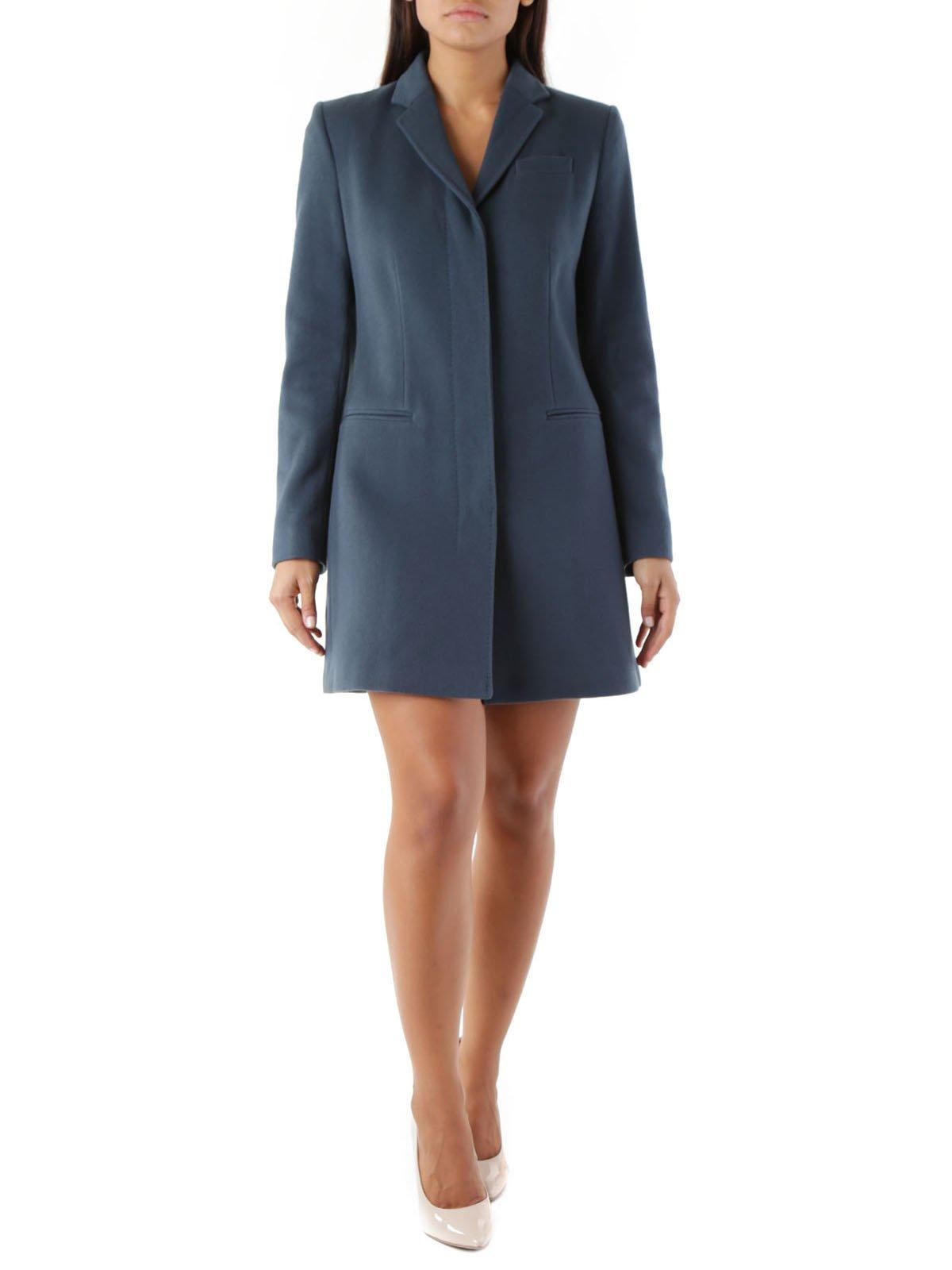 Пальто синее | 3755970