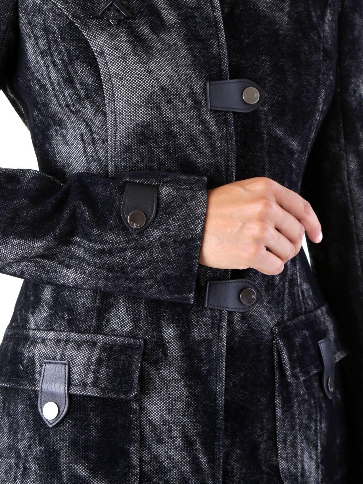 Пальто черное | 3755971 | фото 4