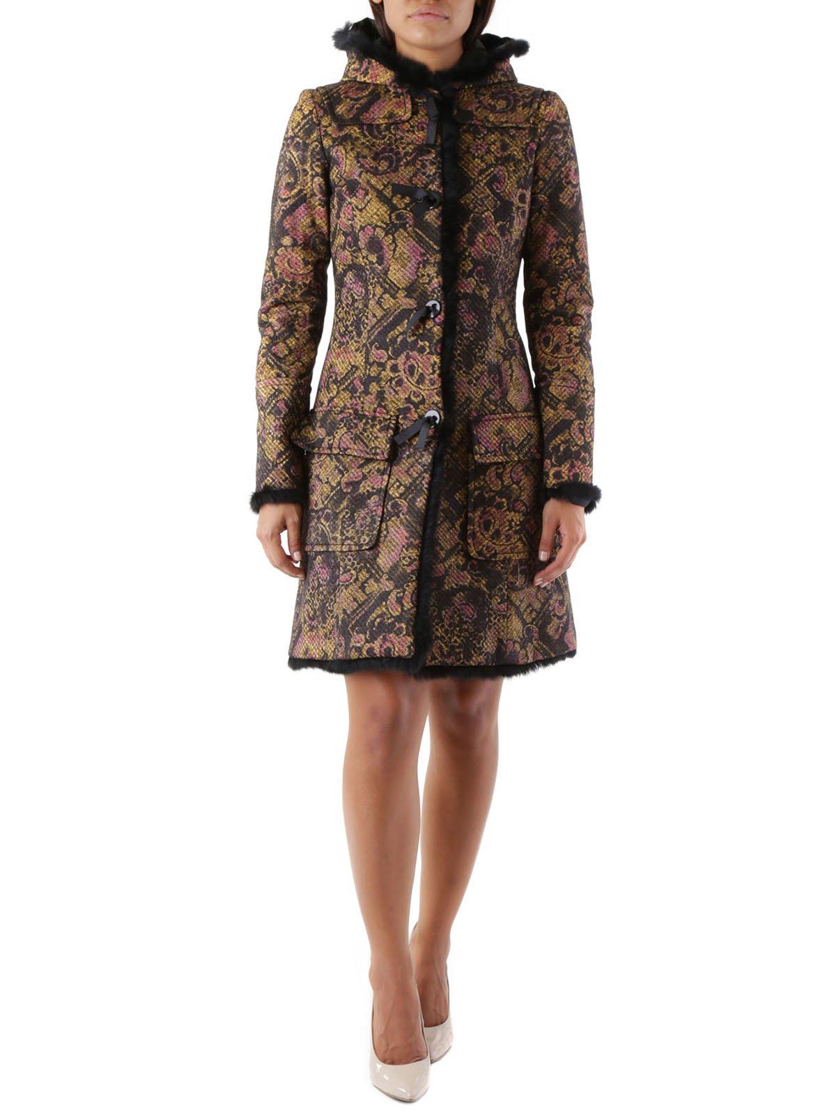 Пальто в принт | 3755980