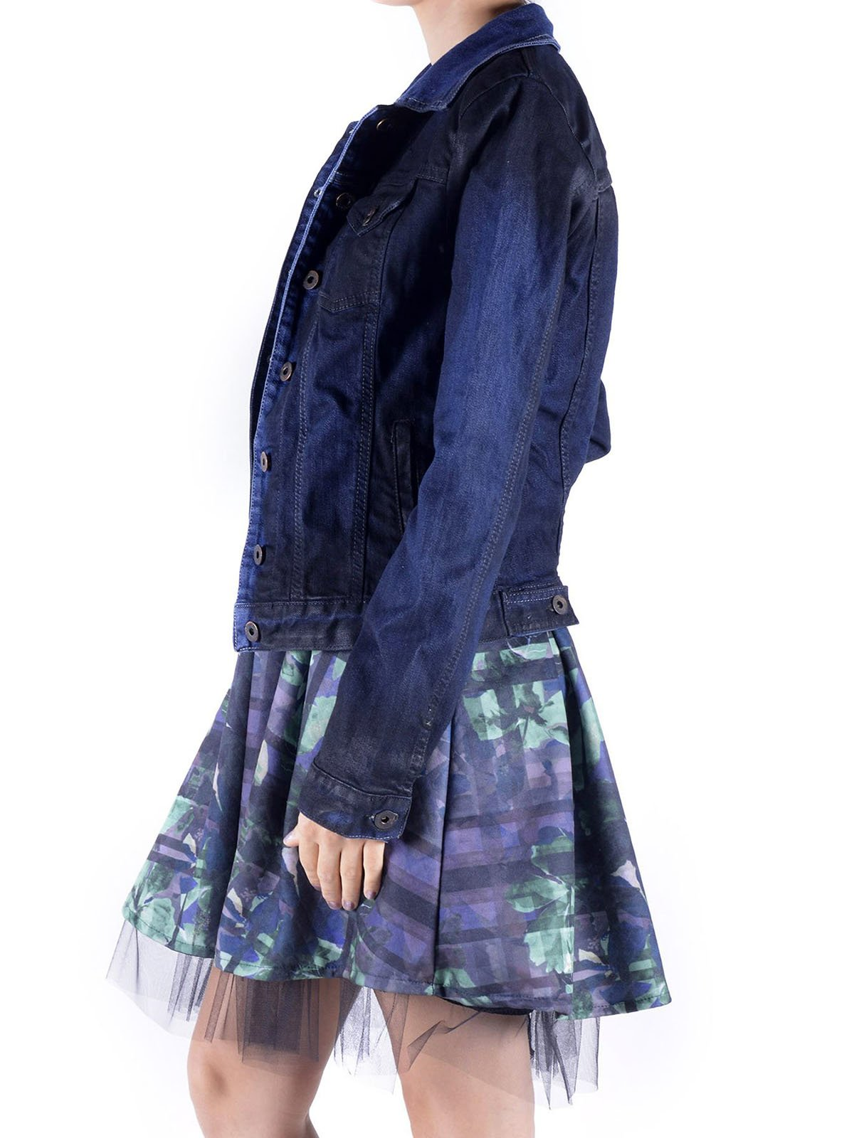 Куртка темно-синяя | 3756630 | фото 3